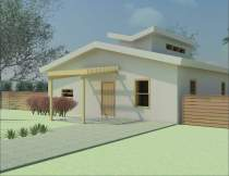 Front view rendering - during design