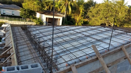 Icf insulated concrete form roofs for south florida and for Icf concrete roof