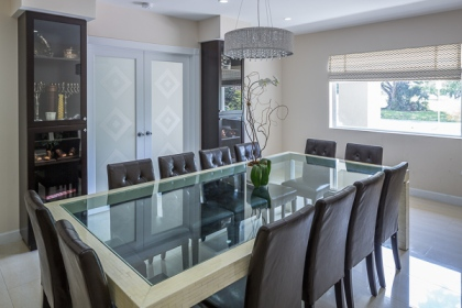 For The Latter Dining Room Has Evolved Into An Open Concept Space Planning That Is Hosting Table Much More Integrated Other Living Areas
